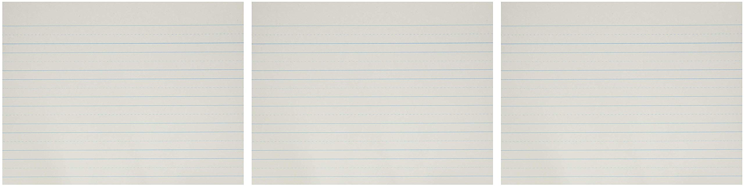 School Smart Skip-A-Line Ruled Paper, 10-1/2 x 8 Inches, 500 Sheets (Thrее Рack) by School Smart (Image #1)
