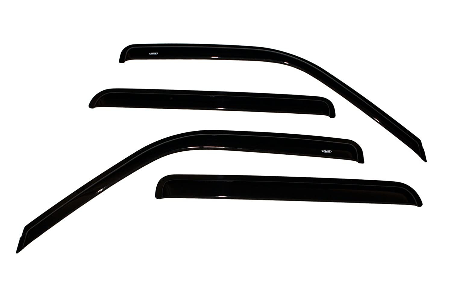 Auto Ventshade 94095 Original Ventvisor Side Window Deflector Dark Smoke, 4-Piece Set for 1992-2000 Chevrolet & GMC C/K1500-C/K3500 Crew Cab, 1995-2000 Tahoe & Yukon, 1999-2000 Escalade & Yukon Denali