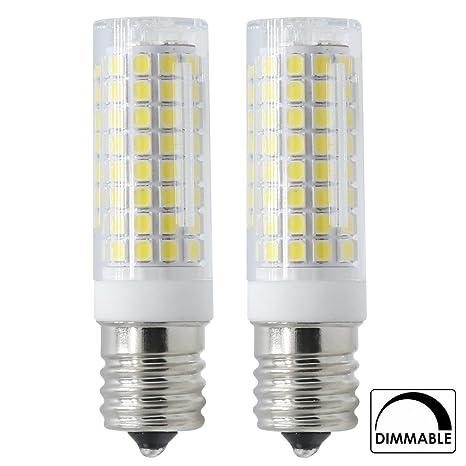 E17 LED todos los nuevos (102-leds) 7 W 120 V (75 W bombillas halógenas equivalente), ...