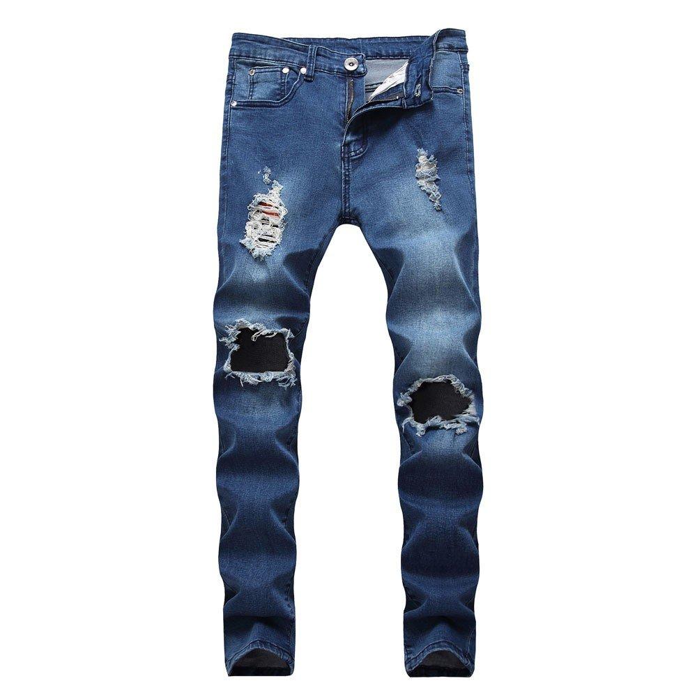 247bf6457c9c3 ZODOF Pantalones Hombre,Pantalones Vaqueros de Hombres Jogger Pantalones  Deportes Pantalones de chándal para Hombre  Amazon.es  Ropa y accesorios