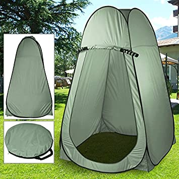 Beyondfashion Pop Up Toilet Tent For C&ing Shower Changing Room Caravan Utillity Accessories With Bag & Beyondfashion Pop Up Toilet Tent For Camping Shower Changing Room ...