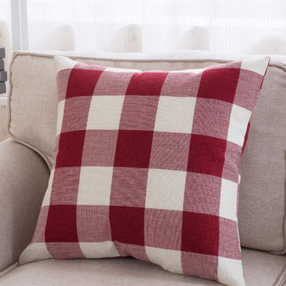 Amazon.com: Unves Fundas de almohada decorativas, sofá ...