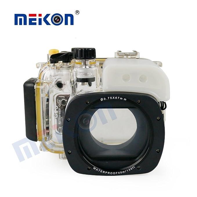 Seafrogs - Funda para cámara de Buceo Canon, Nikon, Olympus, Sony ...