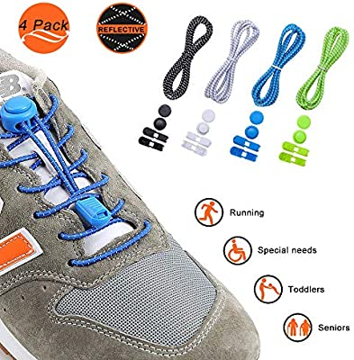 Iprotek - Cordones elásticos para Zapatos de Correr para niños ...