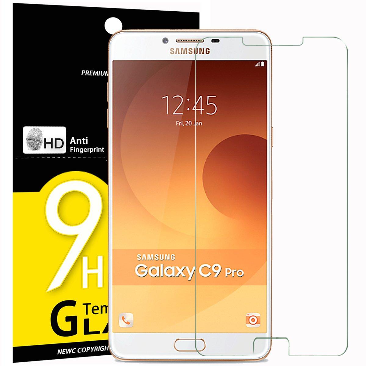 Verre Tremp Samsung Galaxy C9 Pro C9000 Newc Film Protection En C900 Cran Protecteur Vitre High Tech
