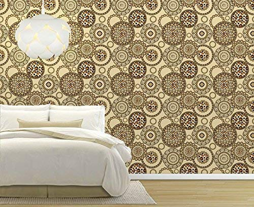 Large Wall Mural Seamless Leopard Skin Pattern Vinyl Wallpaper Removable Decorating