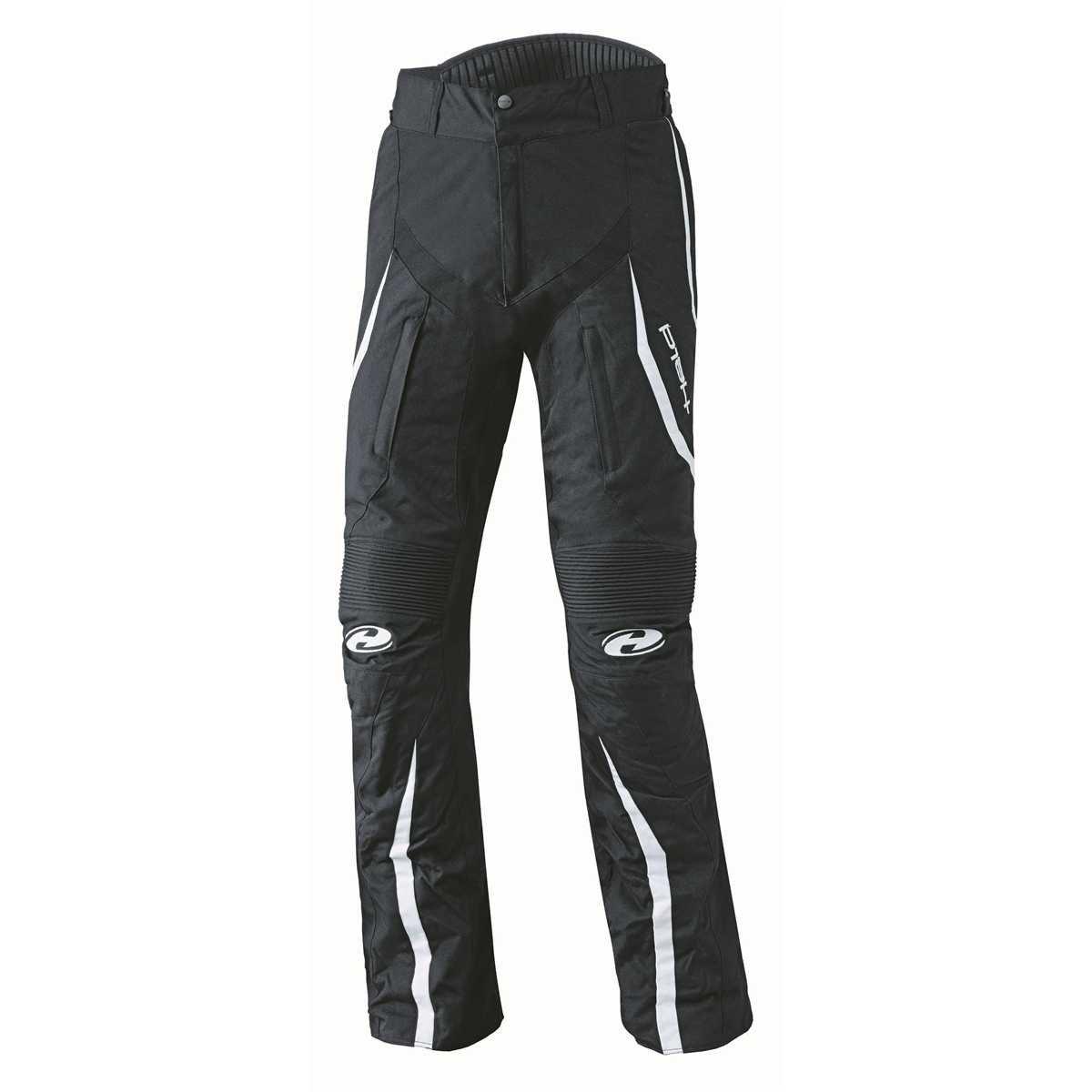 Farbe schwarz-weiss Gr/ö/ße D-M Held Link sportliche Damen Motorradhose