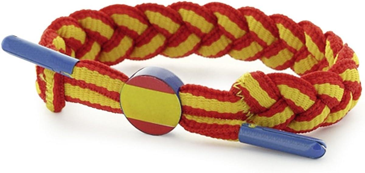 Masterdis pulsera World Pack Paracord Spain Red Yellow – Longitud ...