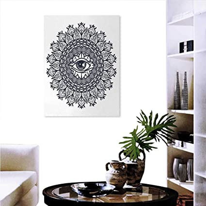 Warm Family Occult Ready To Hang Home Decorations Wall Decor Vintage Symmetrical Circular Pattern Knowledge