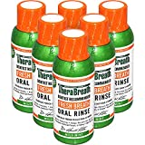 TheraBreath Dentist Formulated Fresh Breath Oral Rinse, Mild Mint Flavor, 3 Ounce Trial and Travel Size (Pack of 6)