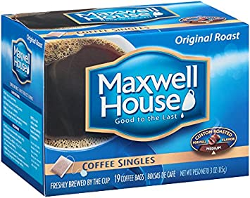 Maxwell House Coffee Singles 19 Ct