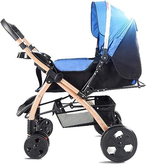 Opinión sobre Cochecito, Cochecito Compacto, Amortiguador Plegable portátil para Sentarse o tumbarse Cochecito para niños