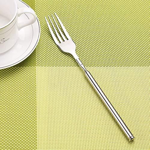 JICHUIO Acier Inoxydable Creative Fourche t/élescopique Extensible Fourche Outil de Cuisine