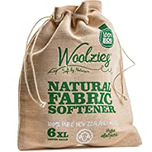 Woolzies, the Original Highest Quality Organic Wool Dryer Balls set of 6(1, bag)