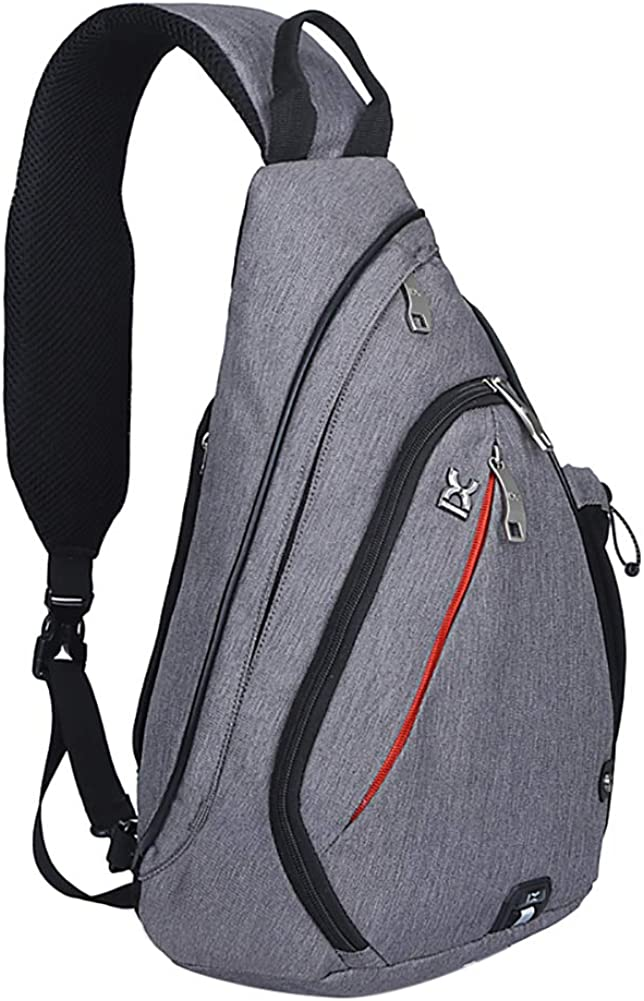 SKYSPER Sling Shoulder Bag Small Backpack for Men Waterproof Crossbody Bag