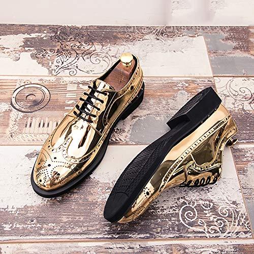 Conducción Hombre Primavera Cuero Y Mocasines Deporte Calzado De Zapato Gold Zapatillas Verano Para tqBxSwP