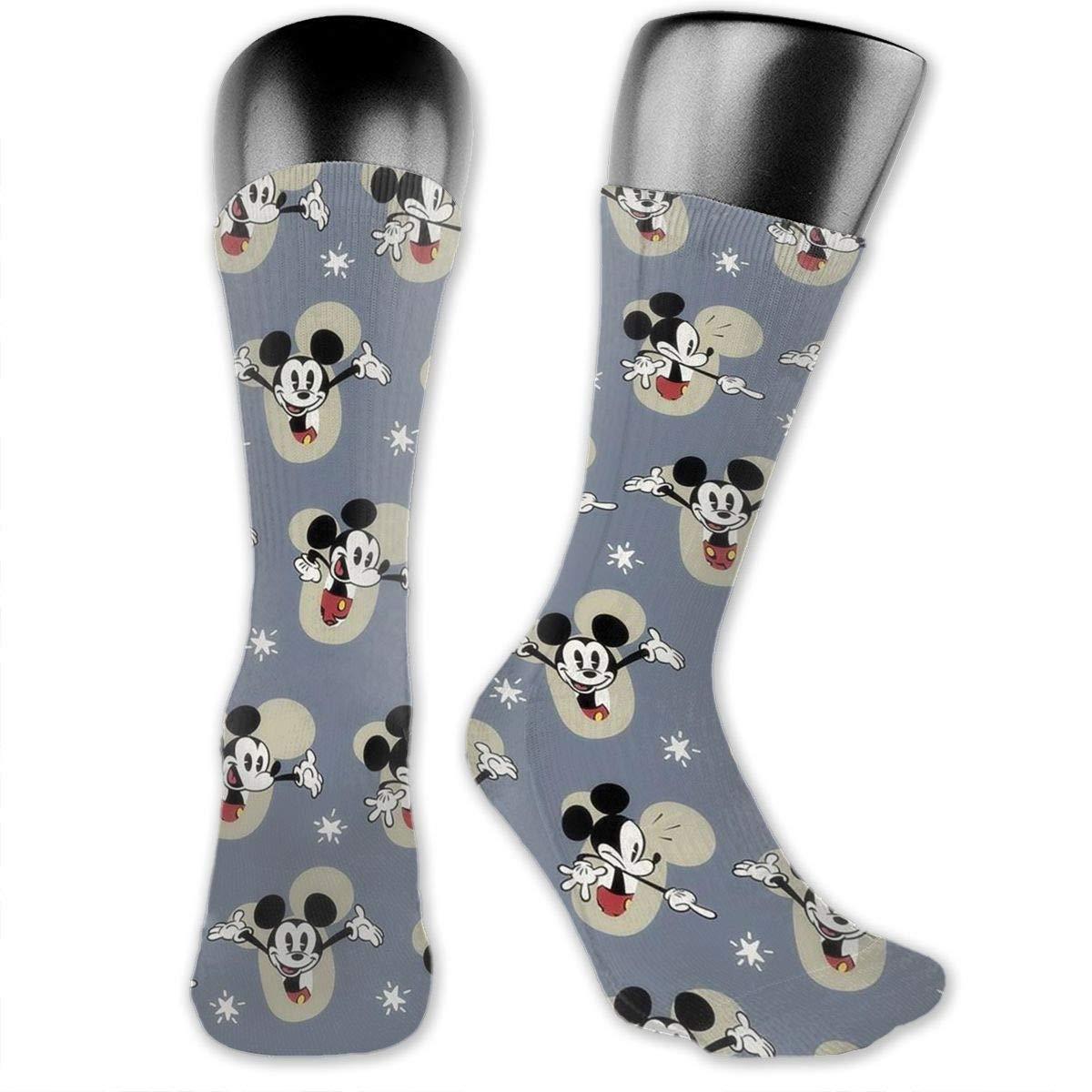 80b9e4375f7 Amazon.com  CFECUP Long Tube Stockings Disney Mickey Mouse Long Crew Tube  Socks Unisex Outdoor  Home   Kitchen