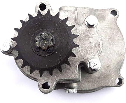 XLJOY 8mm 20 Tooth Sprocket Gear Box For 33cc 43cc 49cc Dirt Dog X-Racer Gas Scooter