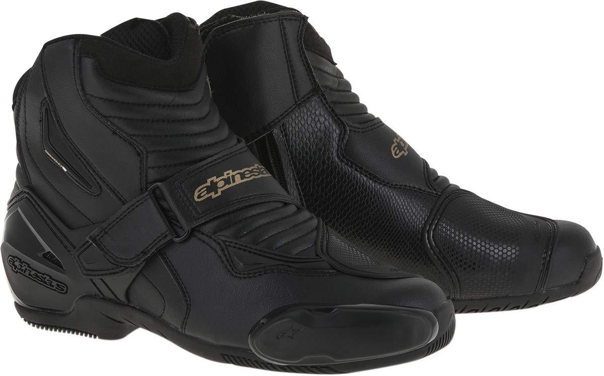 39 Alpinestars SMX-1R Womens Street Motorcycle Boots Black//Gold