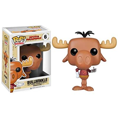 Funko POP TV: Bullwinkle Action Figure: Funko Pop! Animation: Toys & Games