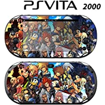 Decorative Video Game Skin Decal Cover Sticker for Sony PlayStation PS Vita Slim (PCH-2000) - Kingdom Hearts Final Mix II