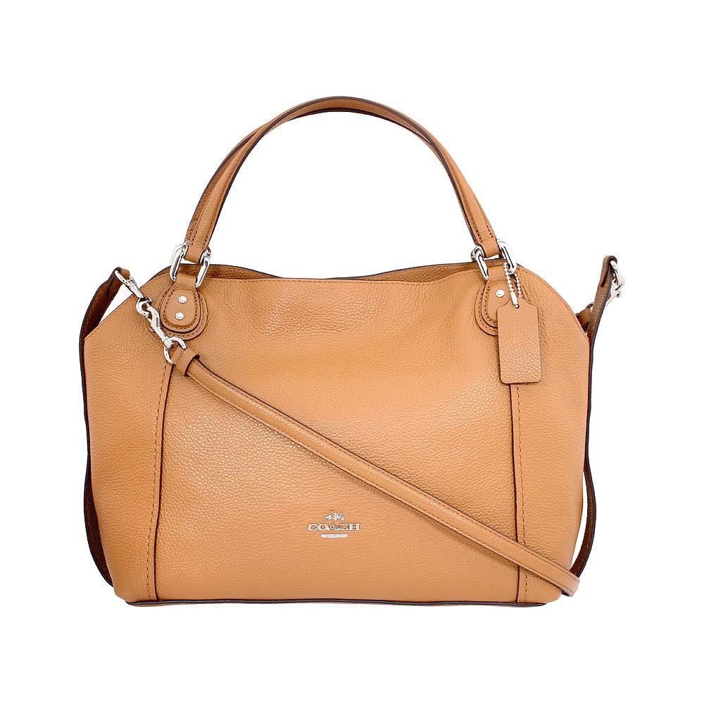 ffa820f2f130 Galleon - Coach Edie Ladies Medium Leather Shoulder Bag 57124