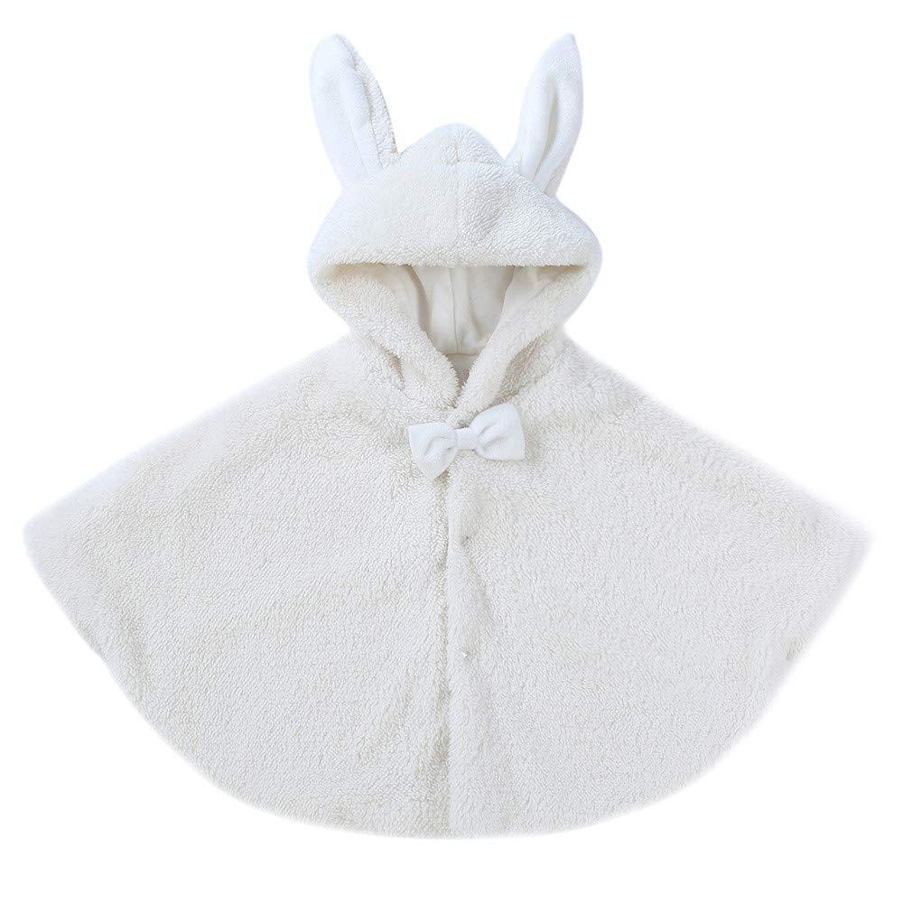 Abrigo de Bebé, LANSKIRT Niñito Bebé Niños niñas Mantener Caliente Dibujos Animados Orejas de Conejo Abrigo con Capucha Ropa de Capa: Amazon.es: Ropa y ...