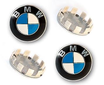 4 x emblema 68 mm centro rueda Caps Set (36136783536): Amazon.es: Coche y moto