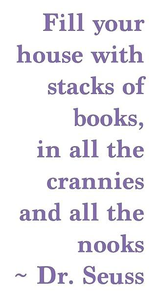Amazon.de: Dr. Seuss Buch Zitat, lavendel, 23.5\