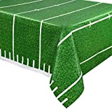 Kangaroos Game Day Football Tablecover; Party Decorations (1/Pkg)