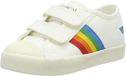 Coaster Rainbow Velcro Trainers