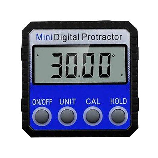 non-brand Mini Portátil Inclinómetro Digital Nivel Medidor ...