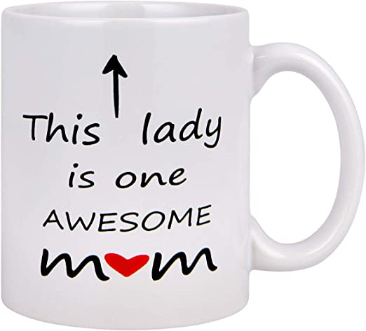 This Is What An Awesome Daughter Looks Like Mug Funny Birthday Novelty Gift