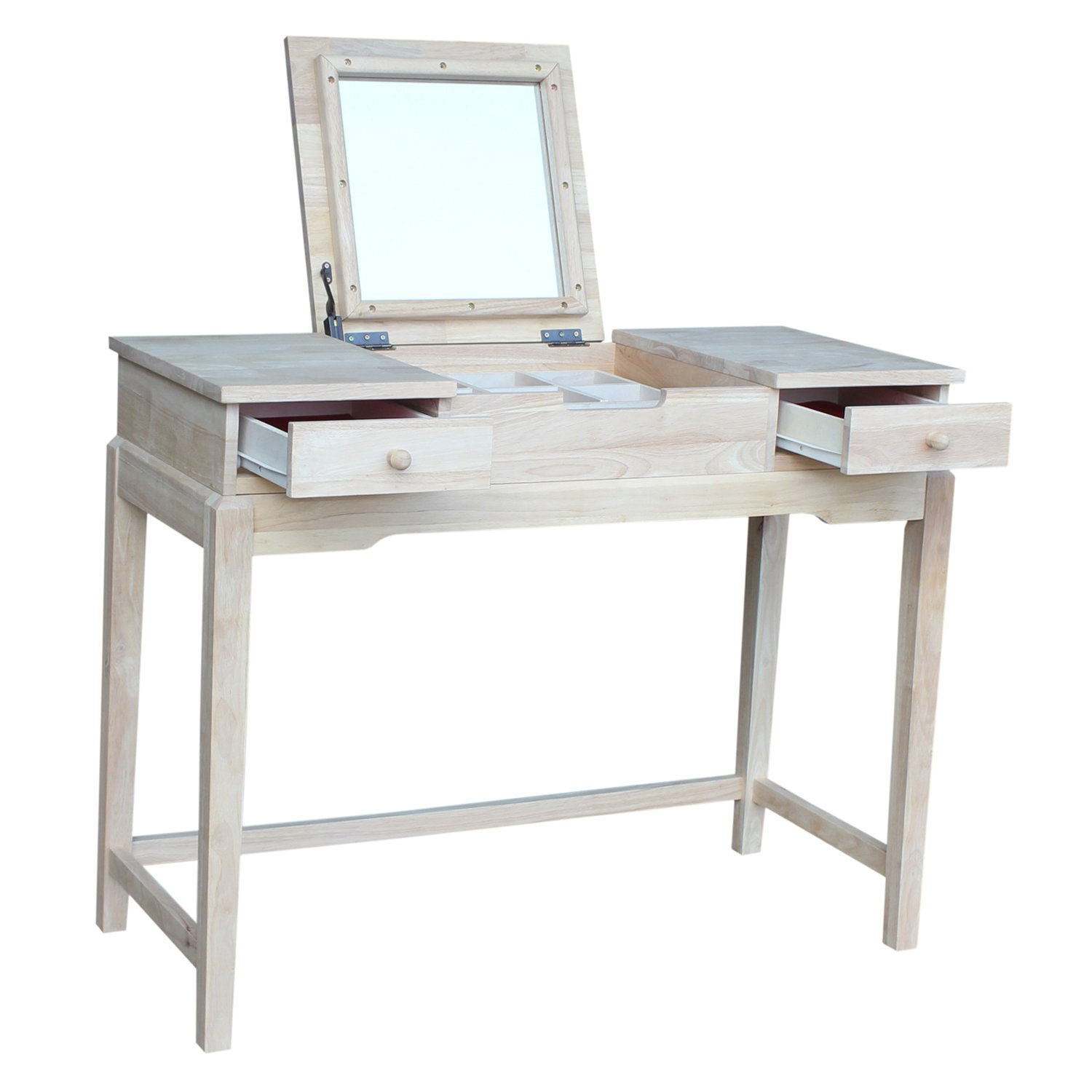 International Concepts Vanity Table, Unfinished