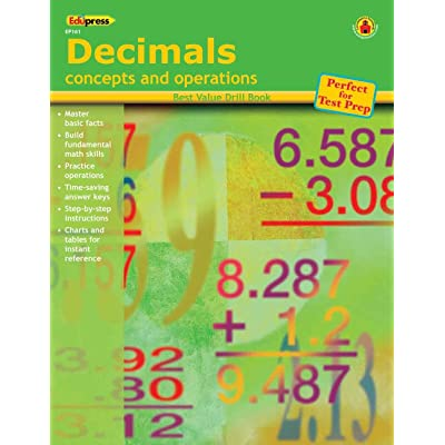 Decimals Concepts & Operations: David Hudson: Toys & Games