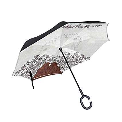 Soloatman Paraguas de Viaje Tradicional para decoración de casa ...