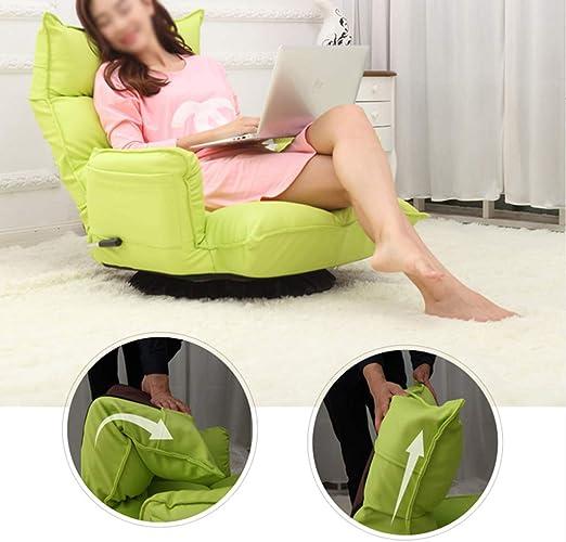 YHSGD Fauteuil de Salon Multifonctionnel pivotant Lazy Sofa
