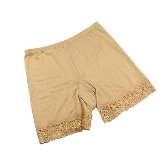 coupon de réduction prix imbattable États Unis Lialbert Culotte de Sécurité Long Short Femme Short sous ...