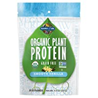 Garden of Life Organic Protein Powder - Vegan Plant-Based Protein Powder, Vanilla...