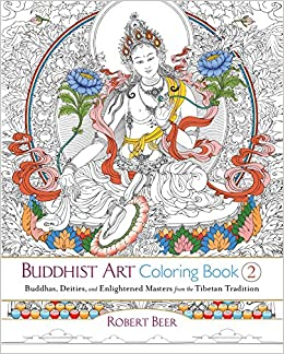 Buy Buddhist Art Coloring Book 2: Buddhas, Deities, and Enlightened ...