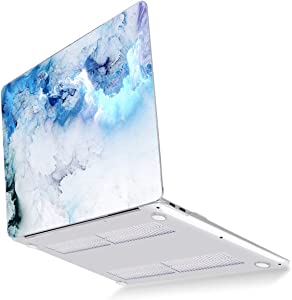 Mektron MacBook Pro 13 inch Cover A2289 A2251 2020 Release, Plastic Hard Laptop Case Shell with Keyboard Skin Screen Protector for 13 inch MacBook Pro with Touch bar & Touch ID, Cloud & Lightning