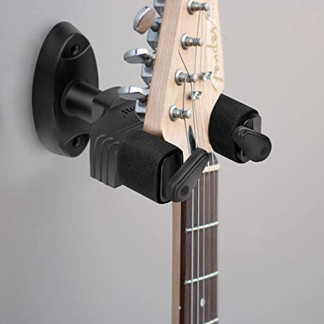 Mugig - Soporte de pared para guitarra, color negro: Amazon.es ...