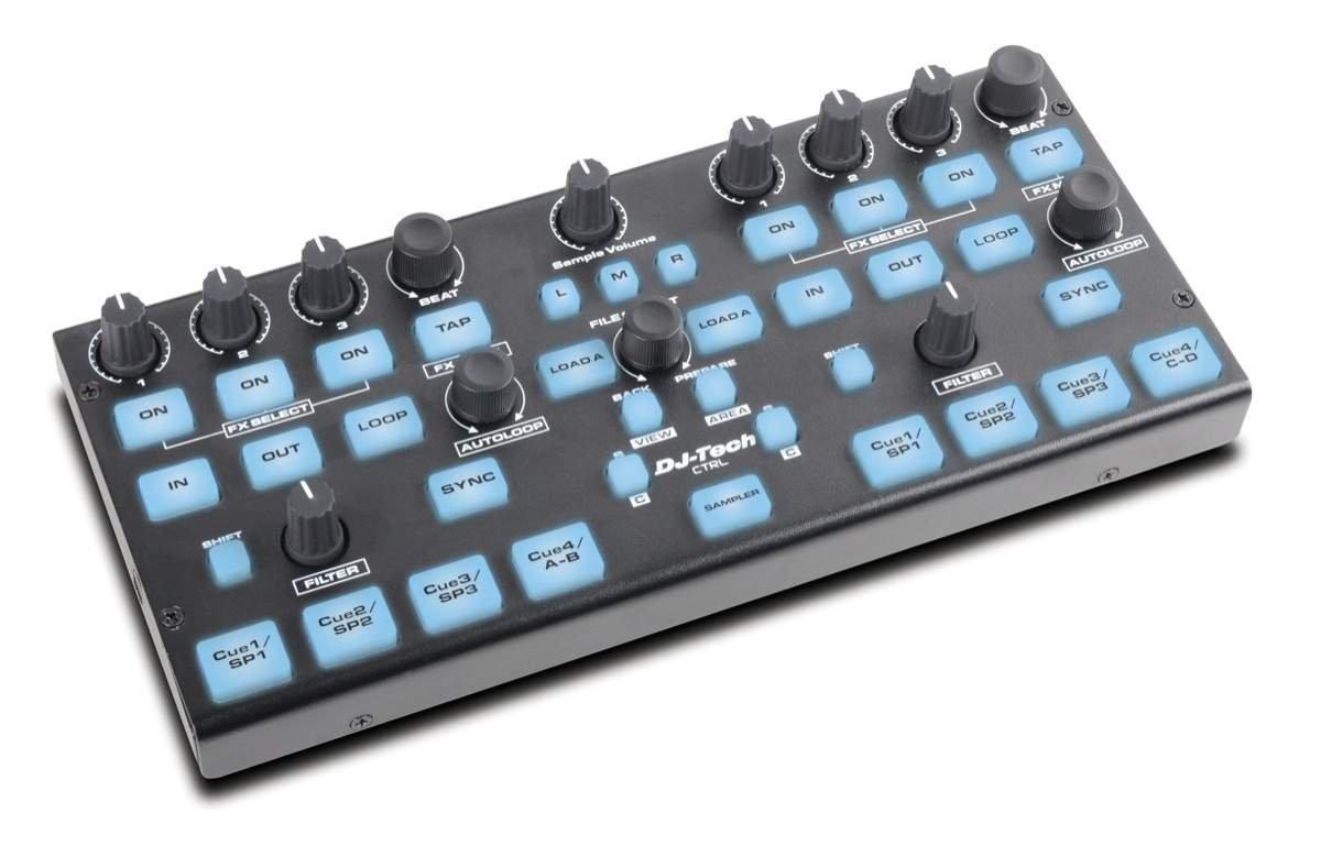 DJ Tech DJT-CTRL Compact Add-On DJ Controller