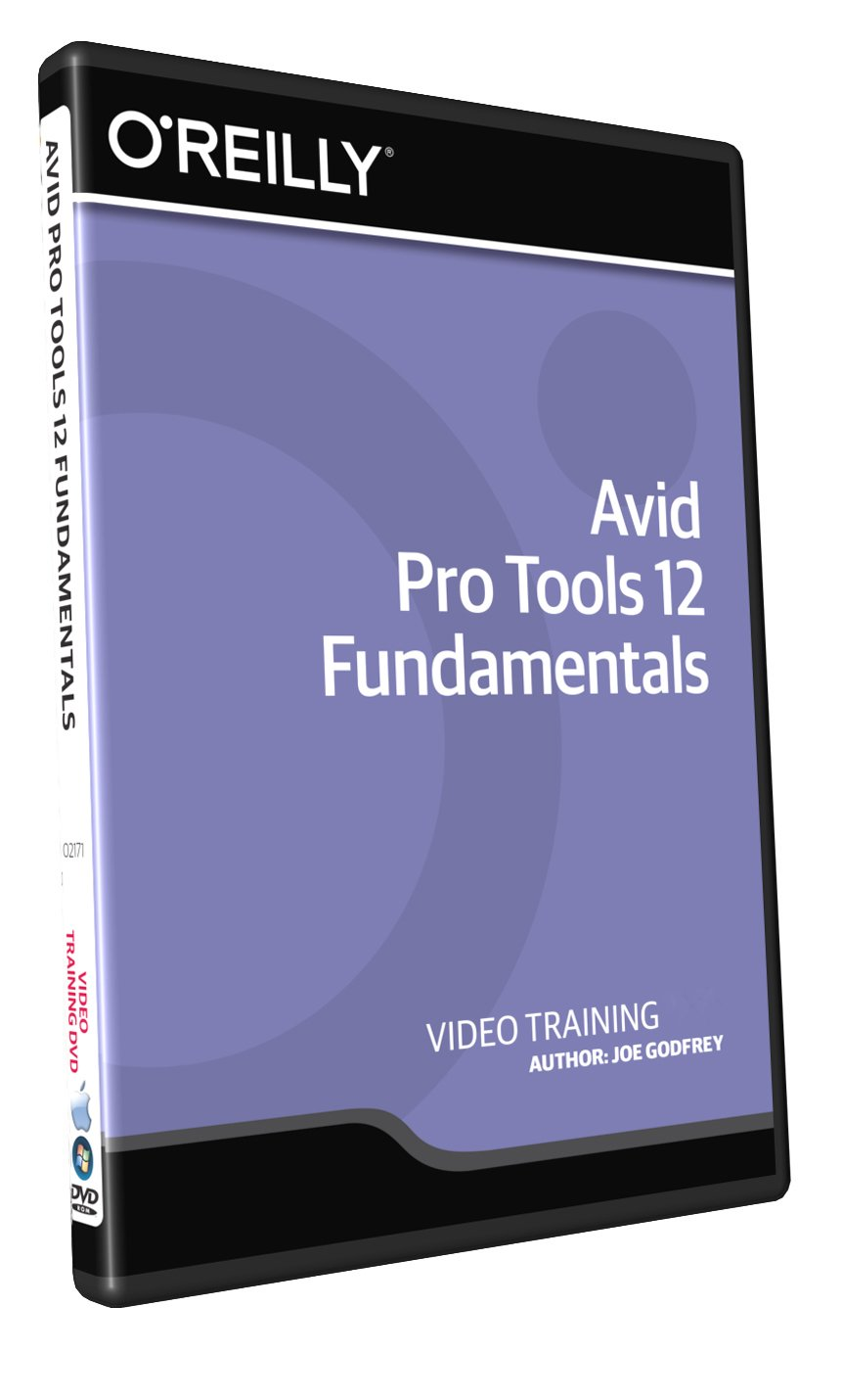 Avid Pro Tools 12 Fundamentals - Training DVD