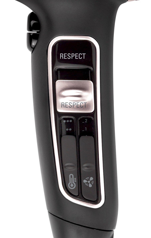 Rowenta Silence AC Respect CV7671E0- Secador de pelo de 2300 W, color negro: Amazon.es: Salud y cuidado personal