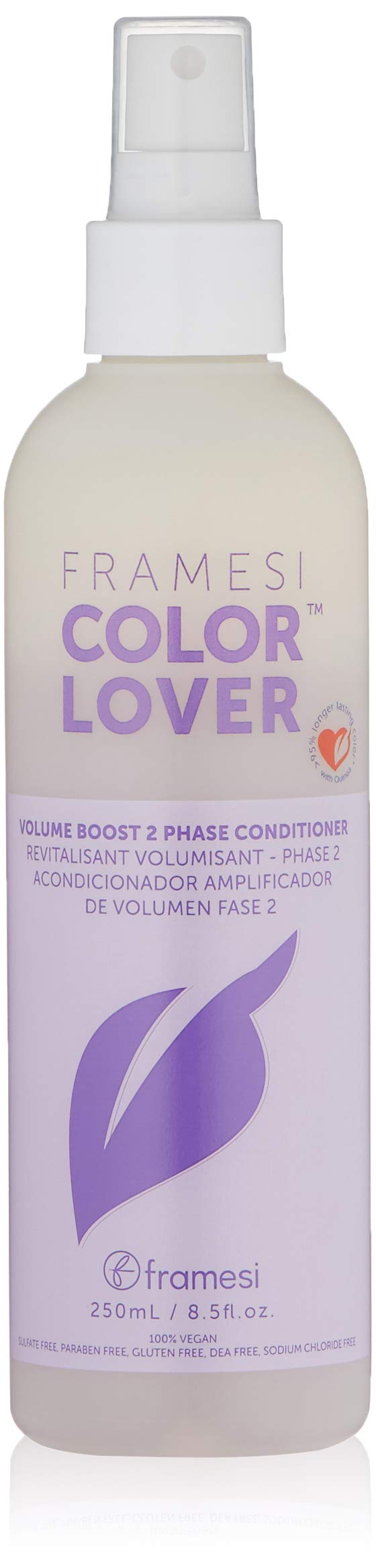 FRAMESI Color Lover Volume Boost 2 Phase Conditioner, Floral, 8.5 oz.