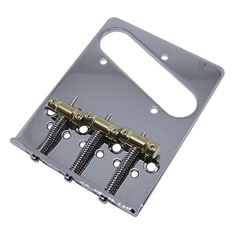 Gotoh moderno Telecaster puente con monturas compensadas, cromado