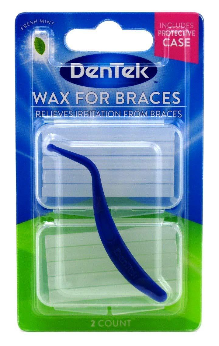 Dentek Wax for Braces - 1 Ea : Dental Wax : Beauty