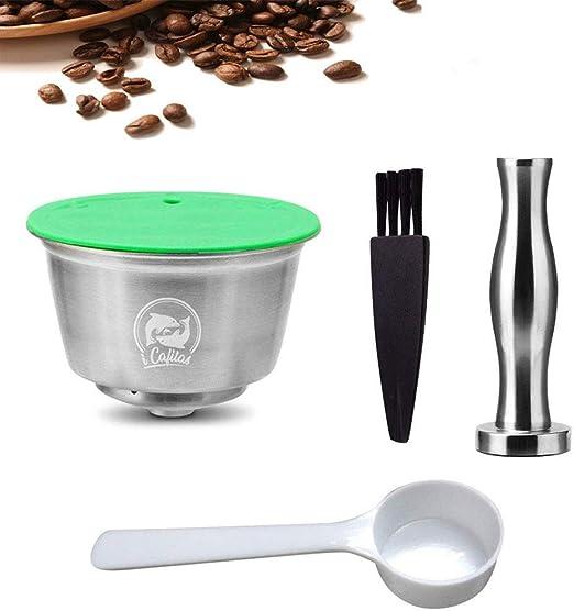 Volwco Filtros Cápsulas de Café para Dolce Gusto, Cápsulas de Café ...