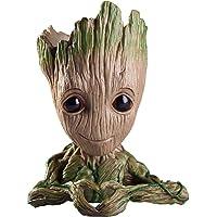 Zesta Guardians of The Galaxy Flower Pot / Groot Pen Stand / Baby Look Innocent Groot Action Figure / Toy (Heart) -GR0003